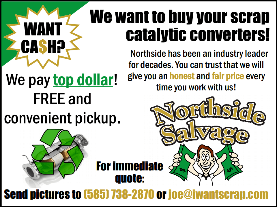 sell catalytic converter rochester ny