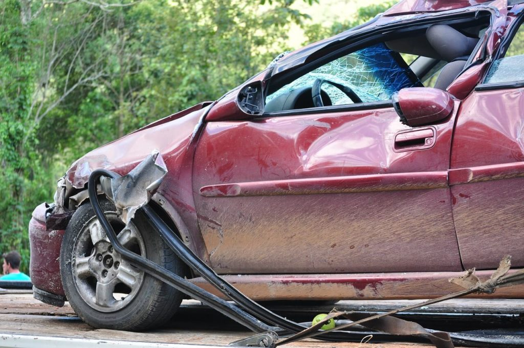 where to sell totaled car